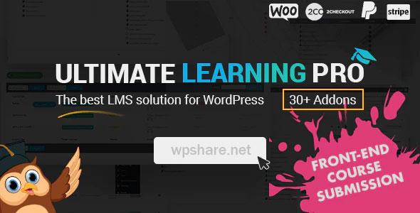 Ultimate Learning Pro WordPress Plugin v2.9