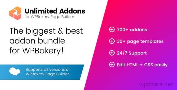 Unlimited Addons for WPBakery Page Builder v1.0.42