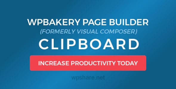 WPBakery Page Builder Clipboard v4.5.8