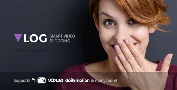 Vlog 2.4 – Video Blog & Podcast WordPress Theme