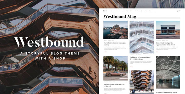 Westbound 1.0 – A Storyful WordPress Blogging Theme