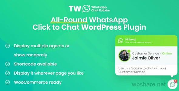 WhatsApp Chat for WordPress and WooCommerce v1.1.0