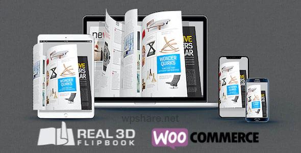WooCommerce Real3D Flipbook Addon v1.0