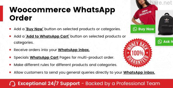 WooCommerce Whatsapp Order v1.1.1