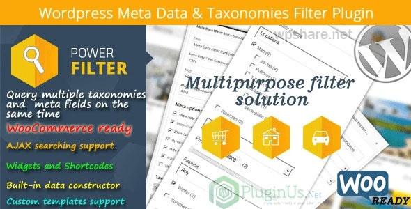 MDTF 2.2.8 – WordPress Meta Data & Taxonomies Filter