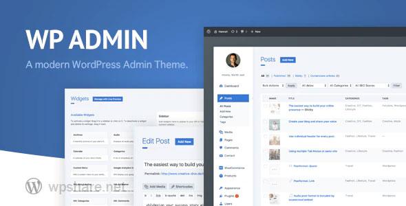 wphave Admin 2.3 – A clean and modern WordPress Admin Theme