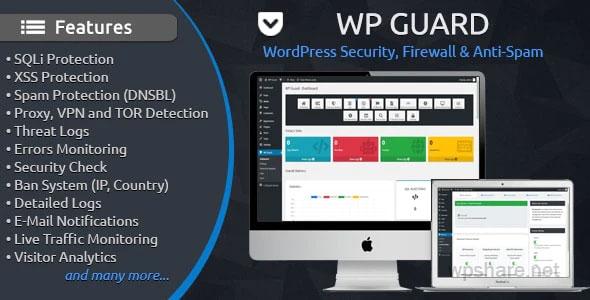 WP Guard 1.6.1 – Security, Firewall & Anti-Spam plugin for WordPress