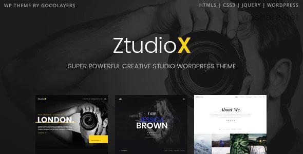 Ztudio X 1.3.0 – Photography WordPress Theme