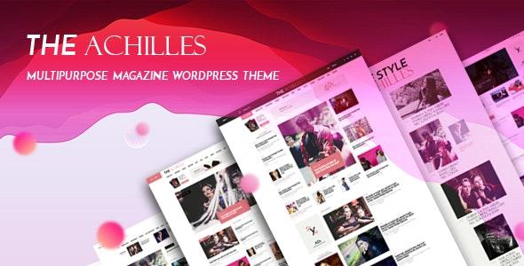Achilles 1.7 – Multipurpose Magazine & Blog WordPress Theme