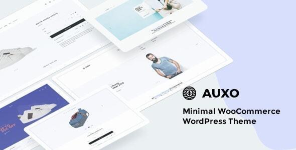 Auxo 1.1.0 – Minimal WooCommerce Shopping WordPress Theme