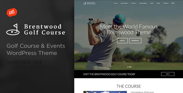 Brentwood 2.9 – Golf Course Theme