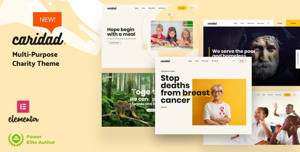 Caridad 2.1 – Charity WordPress Theme