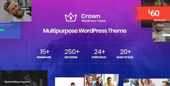 Crown 1.0.4 – Multi Purpose WordPress Theme