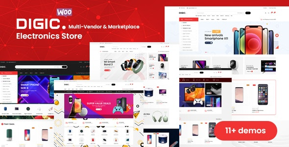 Digic 1.0.1 – Electronics Store WooCommerce Theme