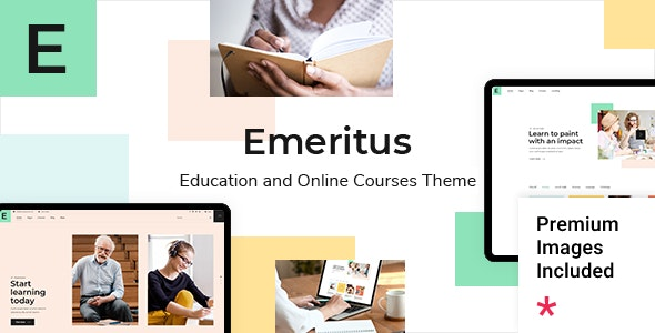 Emeritus 1.0 – Education and Online Courses Theme