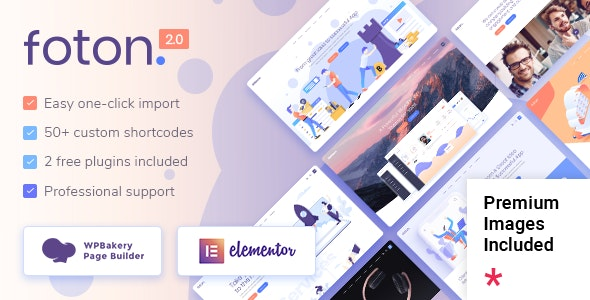 Foton 2.1.1 – Software and App Landing Page Theme