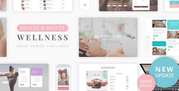 Beauty Wellness 2.1 – Spa Massage WordPress Theme