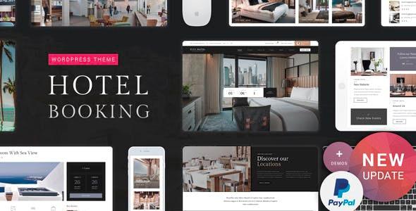 Hotel Booking 2.2 – Premium WordPress Theme
