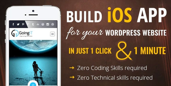 iWappPress 1.0.7 – builds iOS Mobile App for any WordPress Website