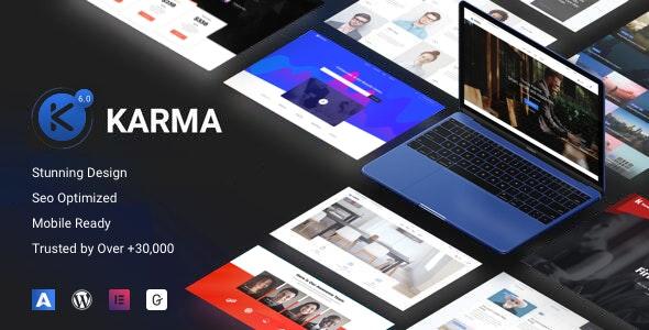 Karma 6.1.8 – Elementor Business WordPress Theme