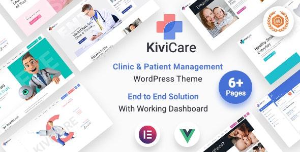 KiviCare 1.4.2 – Medical Clinic & Patient Management WordPress Theme