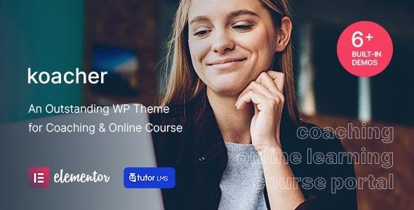 Koacher 1.0.2 – Coaching & Online Course WP Theme