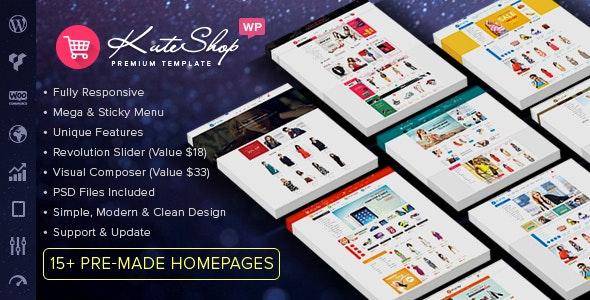 KuteShop 3.7.1 – Fashion, Electronics & Marketplace Elementor WooCommerce Theme