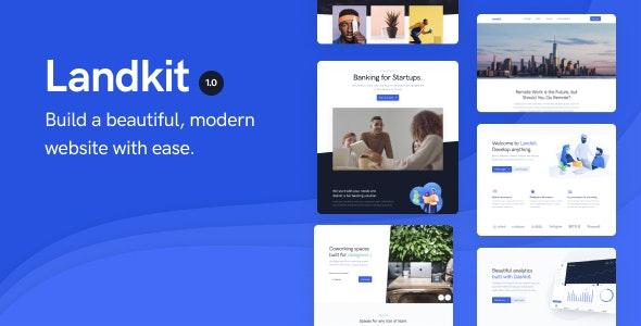 Landkit 1.0.7 – Multipurpose Business WordPress Theme