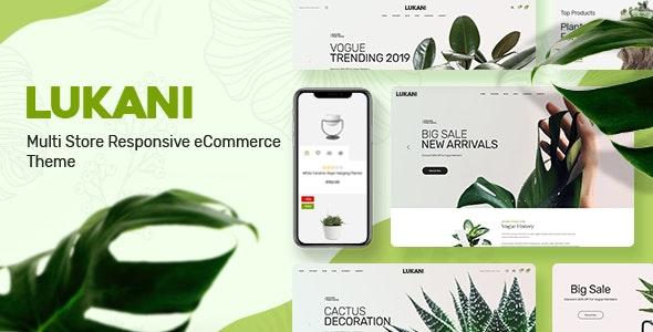 Lukani 1.1.0 – Plant Store Theme for WooCommerce WordPress