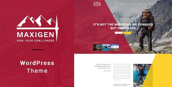 Maxigen 1.2.4 – Hiking & Outdoor WordPress Theme