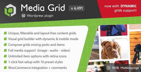 Media Grid 7.0.11 – WordPress Responsive Portfolio