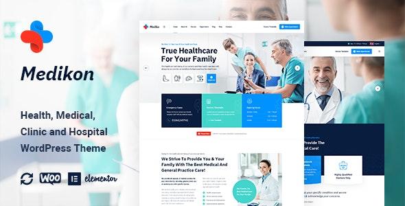 Medikon 1.0.0 – Health & Medical WordPress Theme