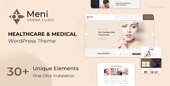 Meni 2.0 – Health Care, Medical WordPress Theme