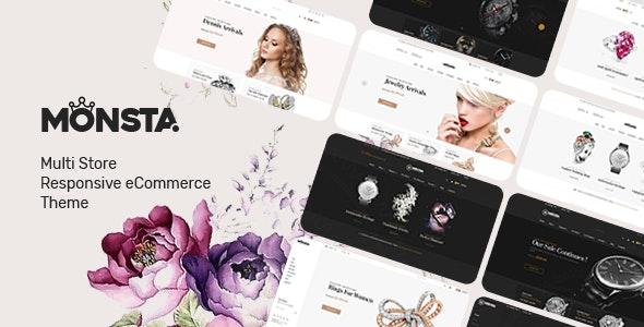 Monsta 1.1.1 – Jewelry Theme for WooCommerce WordPress