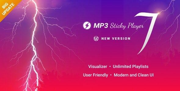 MP3 Sticky Player WordPress Plugin v7.2