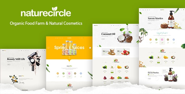 NatureCircle 1.1.2 – Organic Theme for WooCommerce WordPress