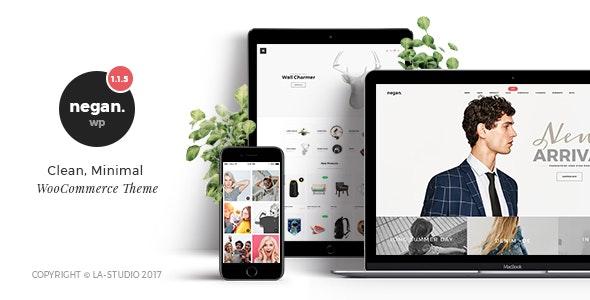 Negan 1.4.2 – Clean, Minimal WooCommerce Theme