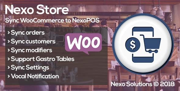 Nexo Store 1.0.10 – Sync WooCommerce & NexoPOS