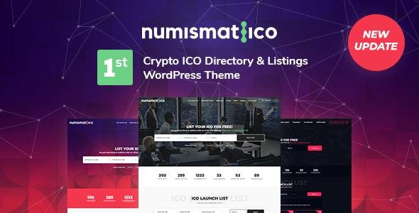 Numismatico 1.8 – Cryptocurrency Directory & Listings WordPress Theme