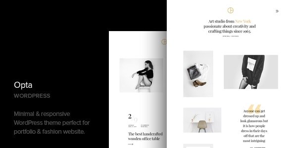 Opta 1.6 – Minimal Portfolio and Photography WordPress Theme
