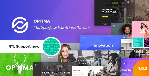 Optima 1.2.1 – Multipurpose WordPress Theme