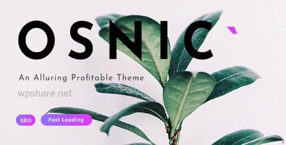Osnic 1.8.5 – Adsense WordPress Theme
