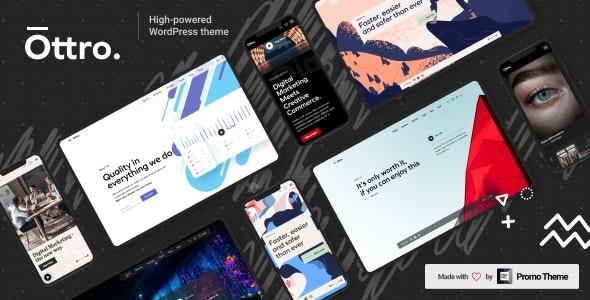 Ottro 1.0.6 – Portfolio & MultiPurpose WordPress