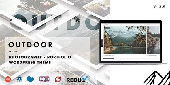 Outdoor 3.9.3 – Creative Photography / Portfolio WordPress Theme