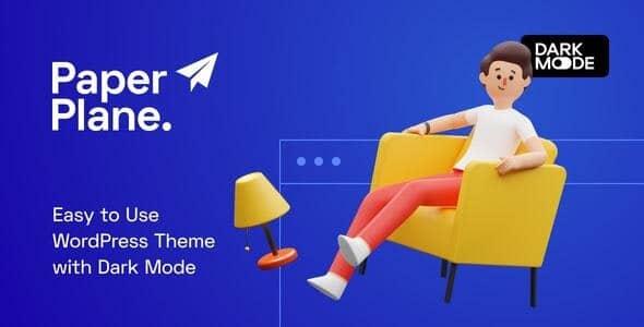 Paper Plane 1.0.9 – Creative Parallax WordPress Blog Theme
