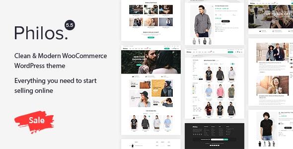 Philos 5.5 – Responsive WooCommerce WordPress Theme