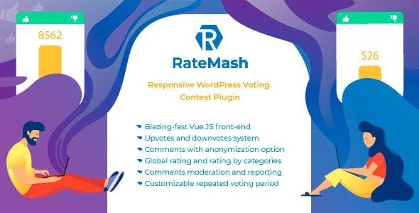 RateMash 1.0.0 – Responsive WordPress Voting Contest Plugin