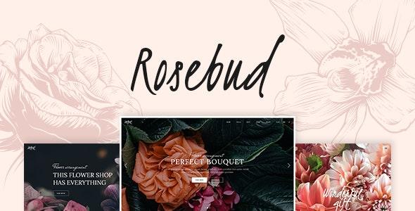 Rosebud 1.5 – Flower Shop and Florist WordPress Theme