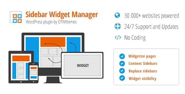 Sidebar & Widget Manager for WordPress v4.3
