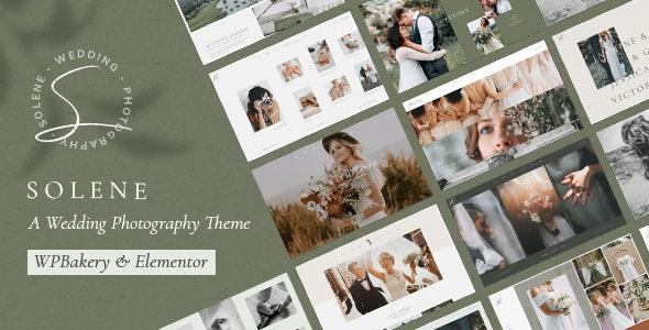 Solene 2.4 – Wedding Photography Theme